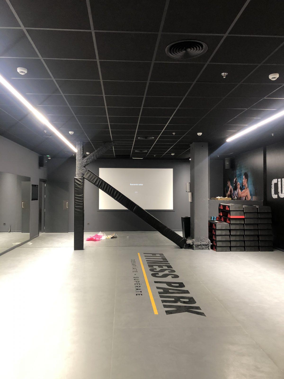 Gimnasio FITNESS PARK.Centro comercial X-Madrid. Alcorcon